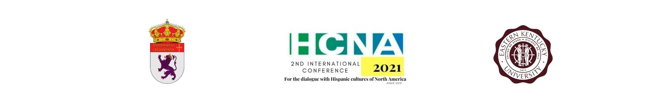 HCNA - 2nd INTERNATIONAL CONFERENCE FOR DIALOGUE WITH THE HISPANIC CULTURES OF NORTH AMERICA 'MUROS' Logo